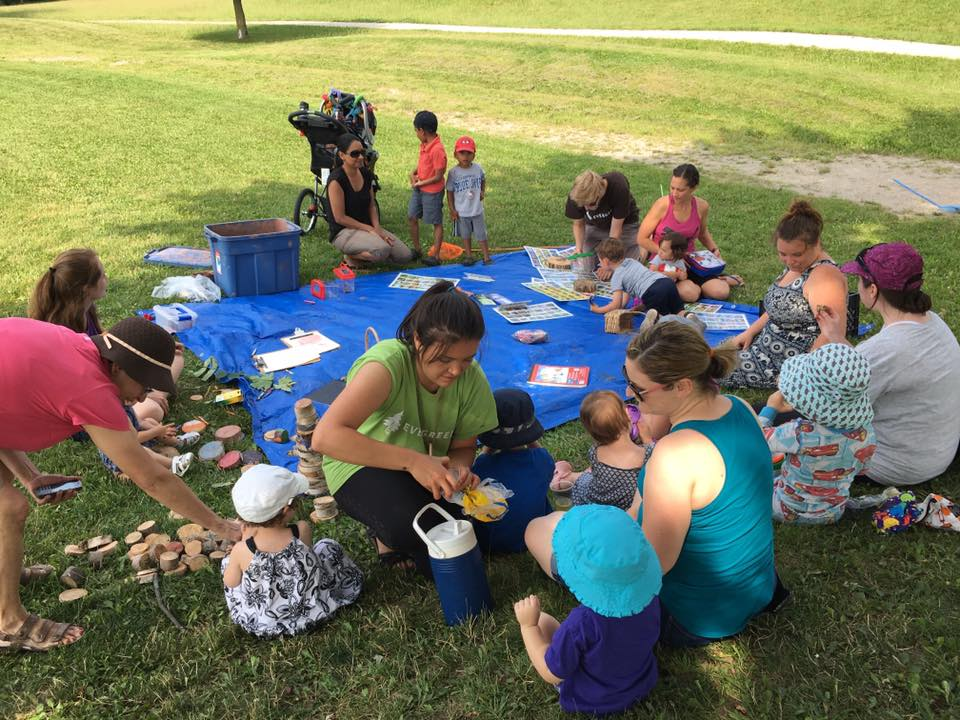 Park design events - programs, festivals and BBQs to gather input.