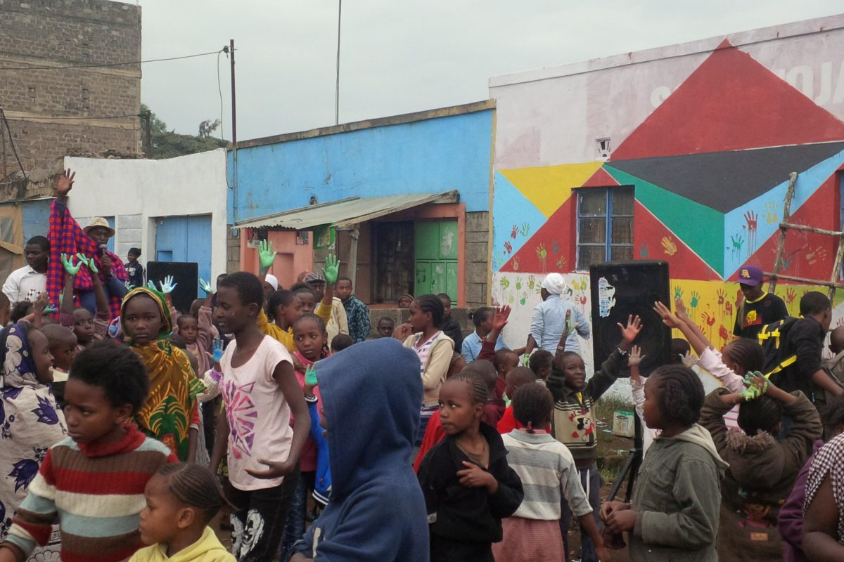Building Party event in Dandora