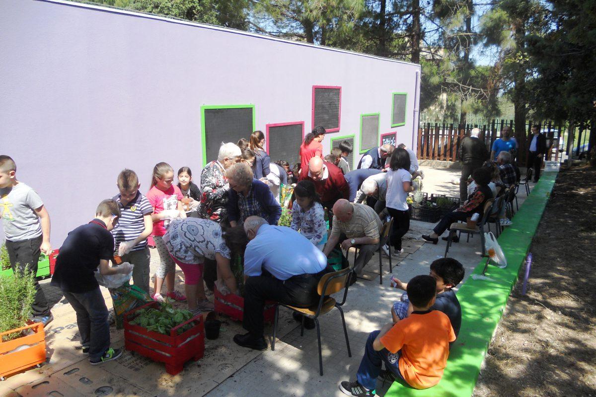 Il Giardino che Non C'è(ra): children & elderly